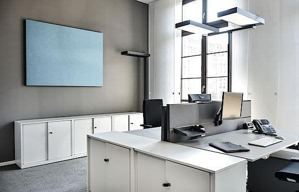 Akustikbild Wandabsorber von AOS im Büro