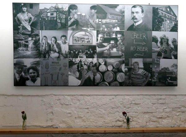 Bedrucktes Wandbild von AOS mit individuellem Bild
