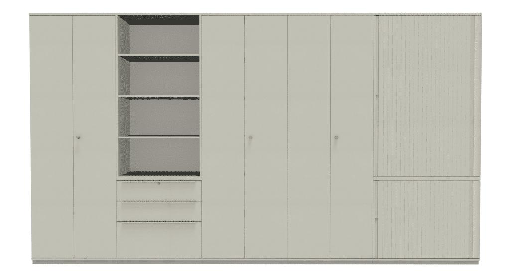 Schrankwand 1