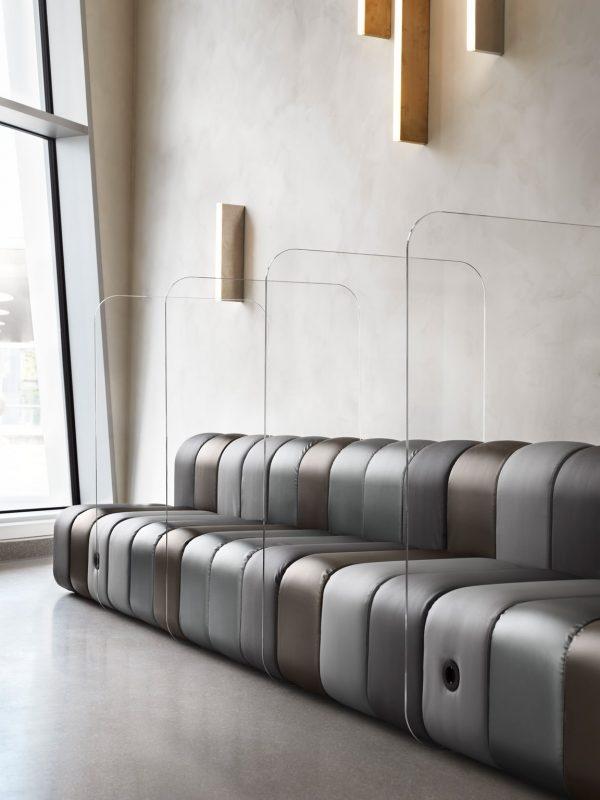 BOB Sofa von Bla Station mit Plexiglas