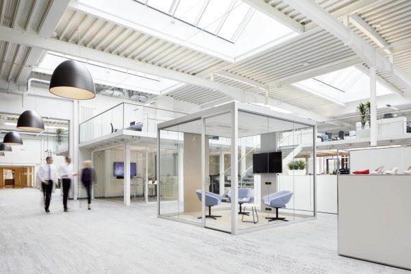 Bosse Cubes 4.0 im Großraumbüro oder Open Space