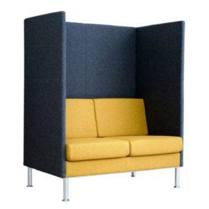 2-Sitzer Sofa mit Brandschutz