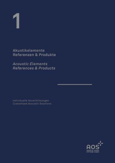 Referenzbilder Akustikelemente AOS
