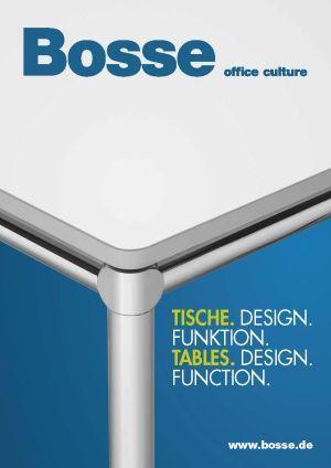 Katalog BOSSE Tische