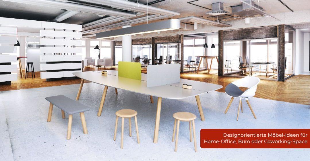 Designorientierte Möbel-Ideen für Home-Office, Büro und Coworking-Space
