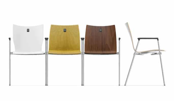 Nummerierung auf Stühlen dank Zifra