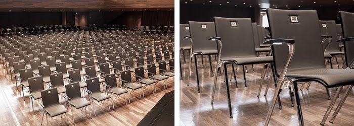 Stuhl-Sitzreihe mit Reihenverbindung
