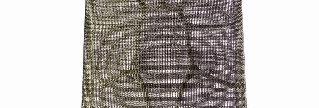 Bürodrehstuhl mit einem Rücken wie ein Blatt - Struktur