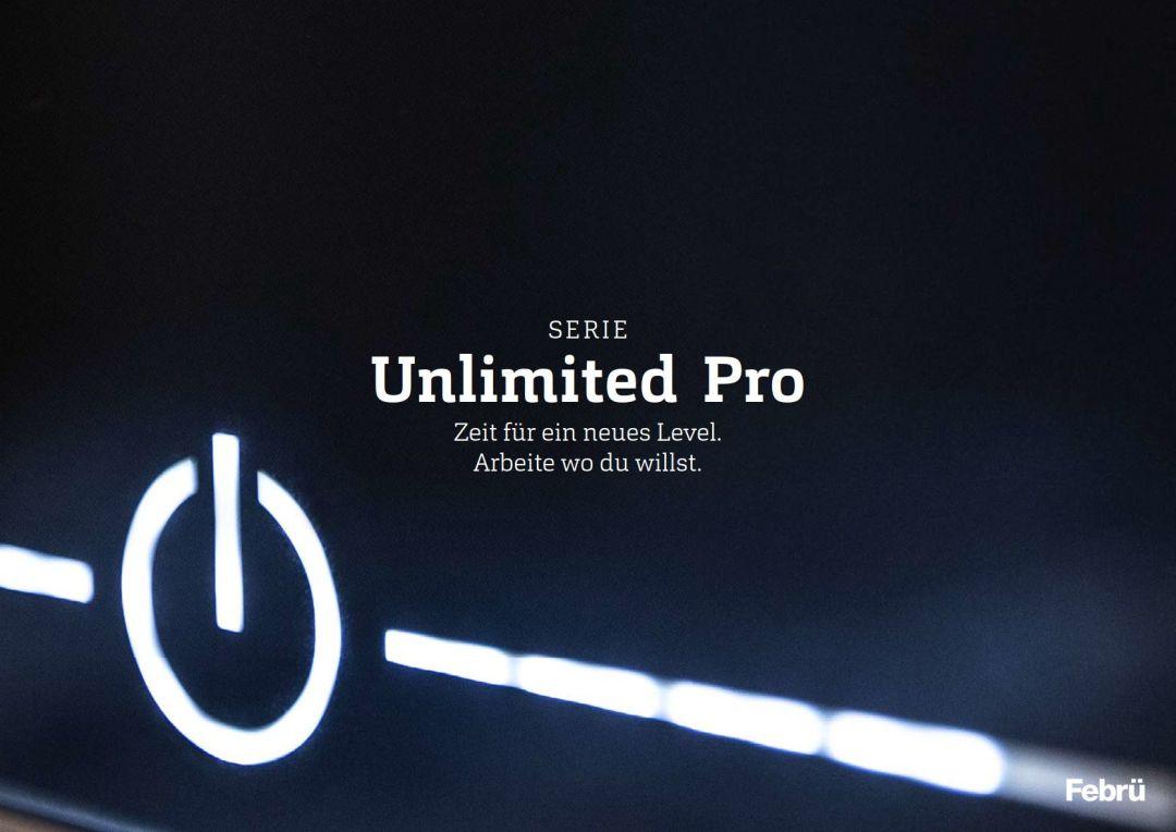 Katalog von FEBRÜ Schreibtisch Unlimited PRO