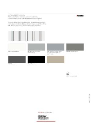 Titelseite des Tischanlagen von Kusch+Co
