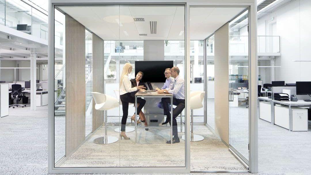 BOSSE Cube im Großraumbüro