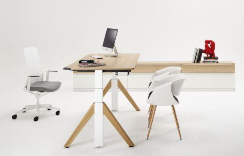 Sitz-Steh-Schreibtisch Flow von WINI