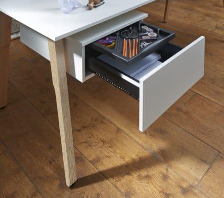 Holzgestell für Schreibtischmodell Sox von Febrü