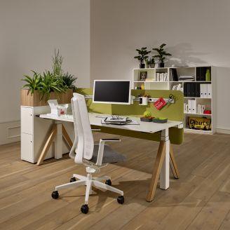 WINEA Flow Sitz-Steh-Schreibtisch