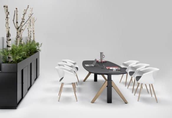 WINEA Flow Besprechungstisch - Schreibtisch