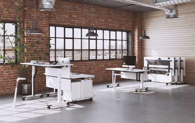 Klappbarer Schreibtisch Jump Flex von OKA
