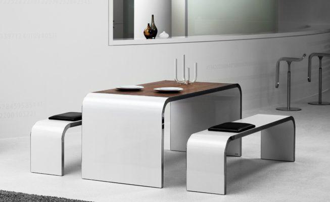 Müller Schreibtisch M10 mit passender Sitzbank