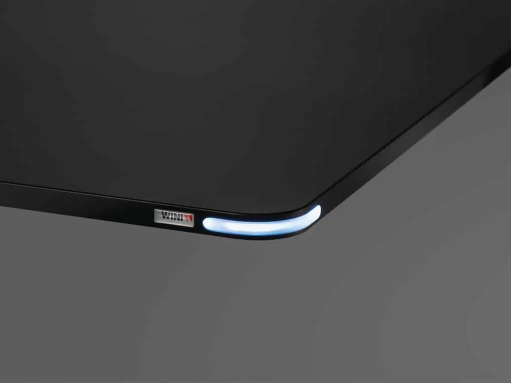 Neues Bedienelement für Sitz-Steh-Tische mit LED