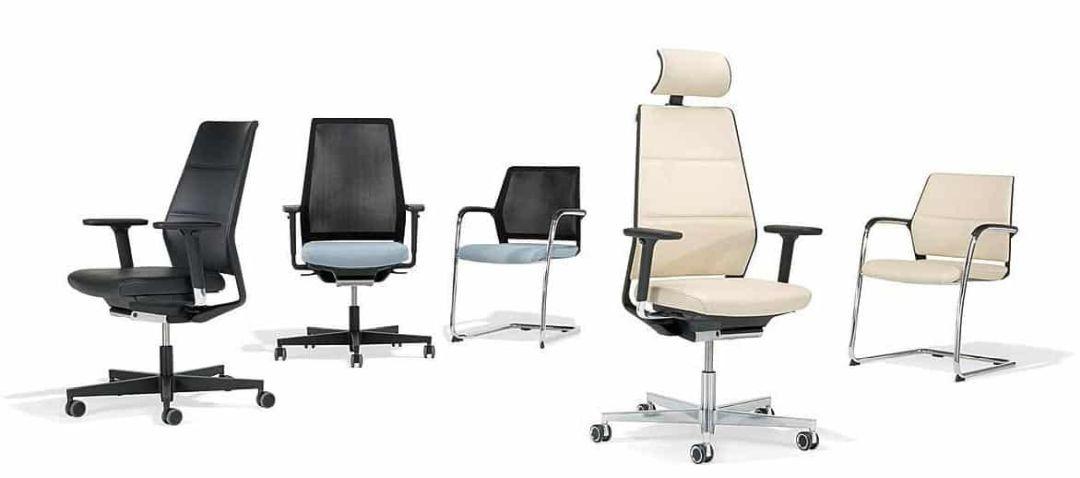 Verschiedene Modelle  von Bürostühlen für Ihr Büro