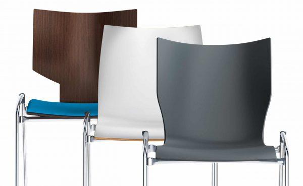 Sitzschalen vom LYNX Stuhl