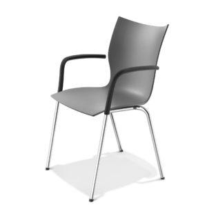 Onxy Konferenzstuhl aus Kunststoff von Casala