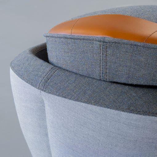 Abnehmbarer Deckel vom Sitzhocker