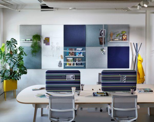 Blog Work konferenz- und Arbeitstisch mit Trennwand