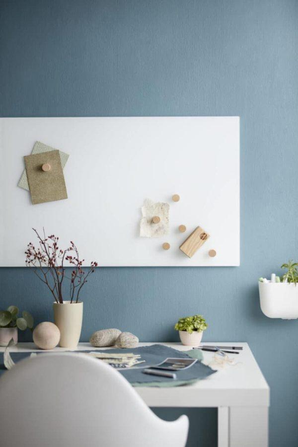 Chat Board Classic magnetische Glastafel in weiß