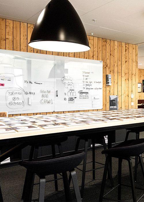Schreibtafel für den Konferenzraum von Chat Board