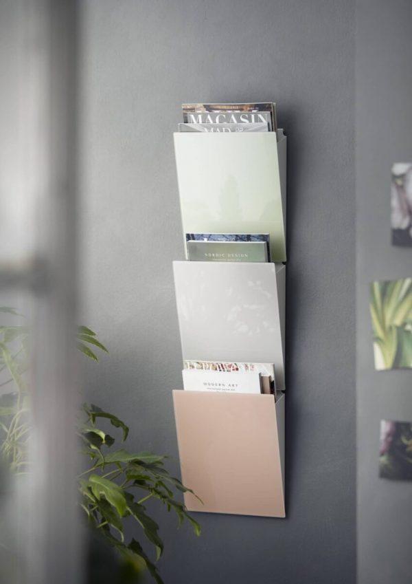 Magazine Rack Halter für Prospekte in farbig
