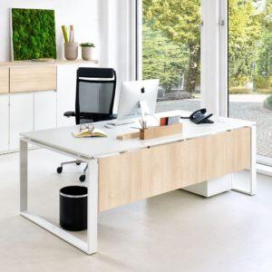 Intero Schreibtisch von Febrü mit O-Gestell