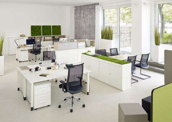 Schreibtisch QUADRO von FEBRÜ