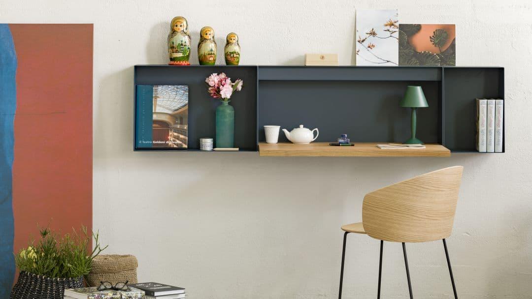 Klappbarer Wandschreibtisch modern Home Office