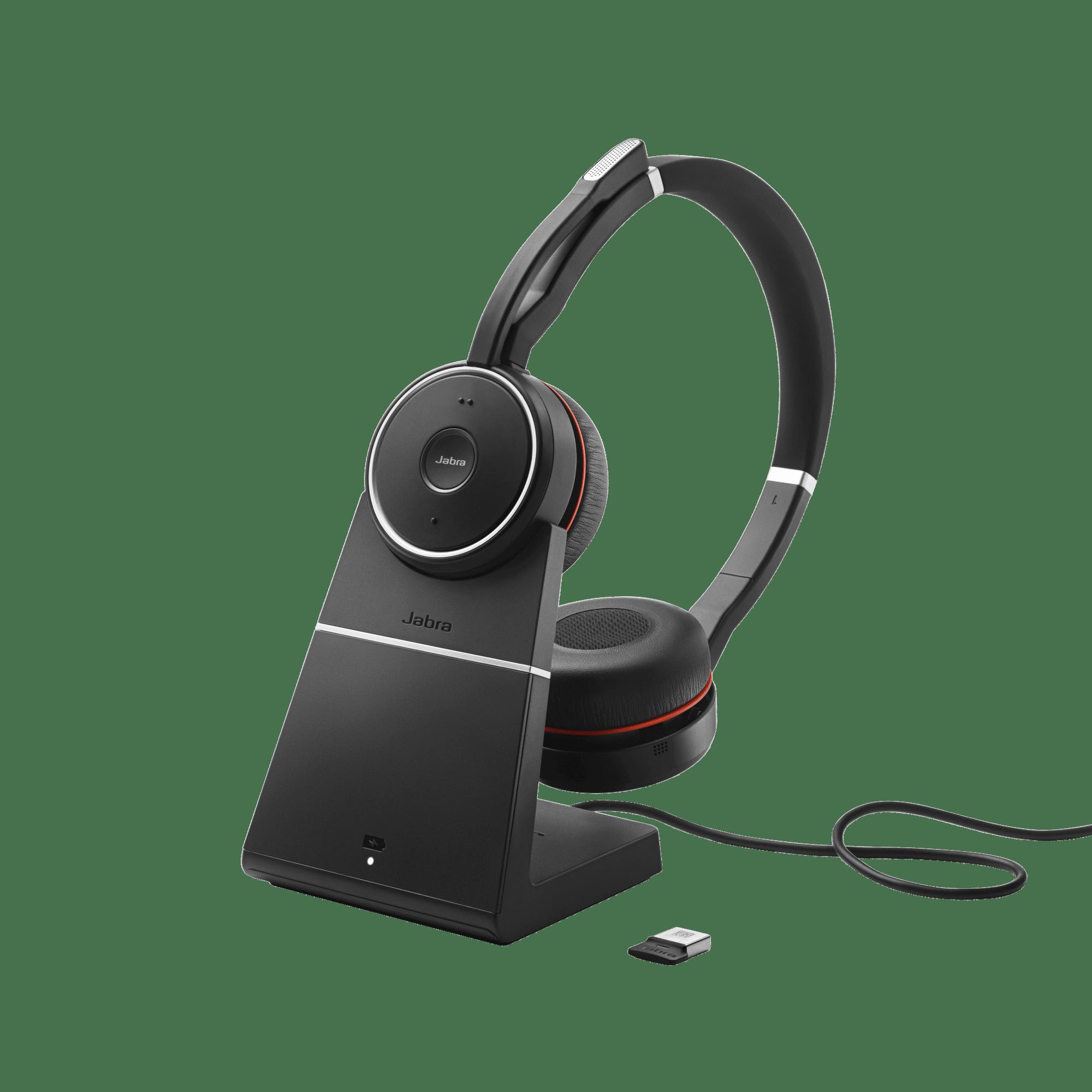 Jabra Headset binaural für Akustikoptimierung
