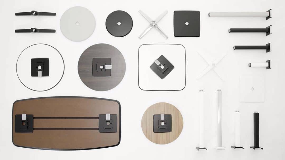 Komplette Modell-Familie Blender - werkzeuglos montieren