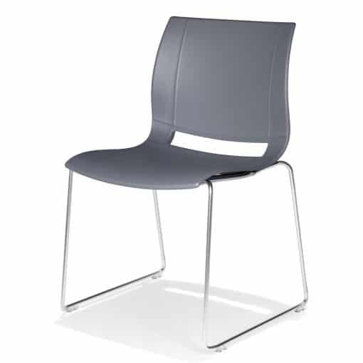 Kunststoffstuhl UNI VERSO von Kusch & Co