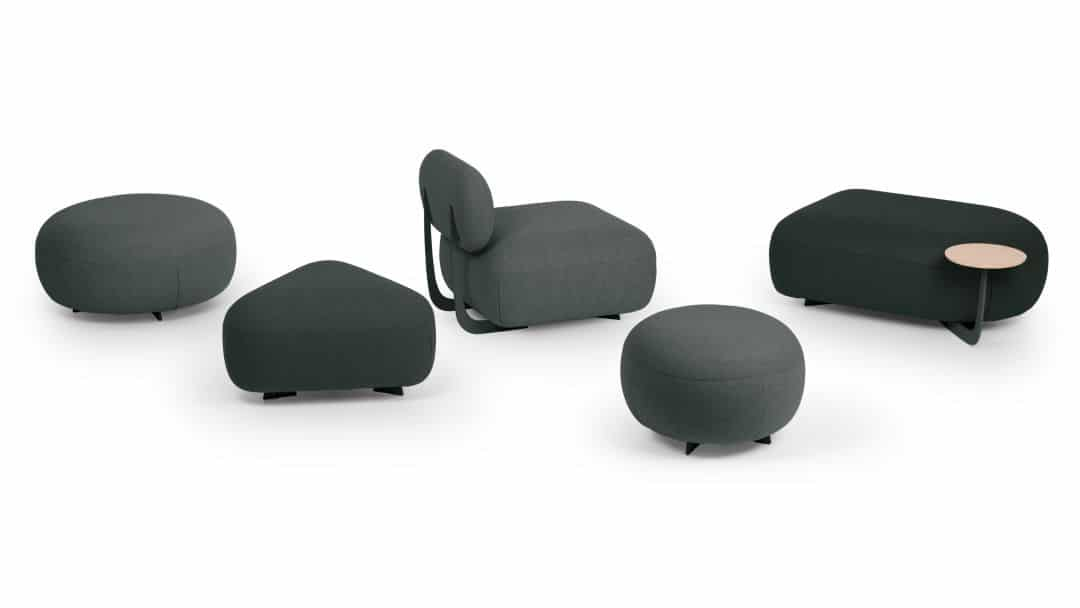 Loungemöbel Produktfamilie Code von True Design