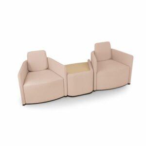 To-to Loungesitze mit Tisch