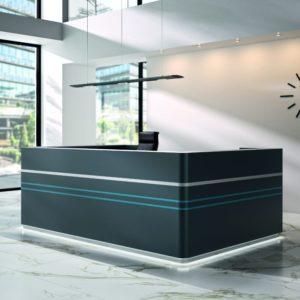 Empfangstheke Workspace Müller Möbelfabrikation
