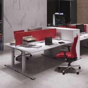 OKA DeskTop Akustik-Trennwand mit Tischklemme