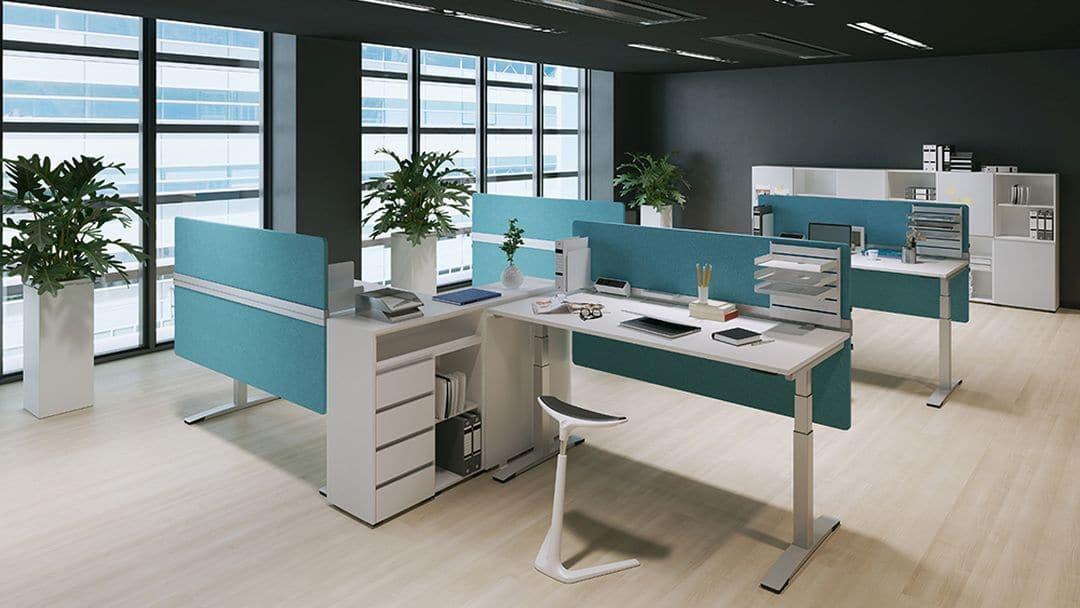 Tisch-Trennwand Desk Top von OKA