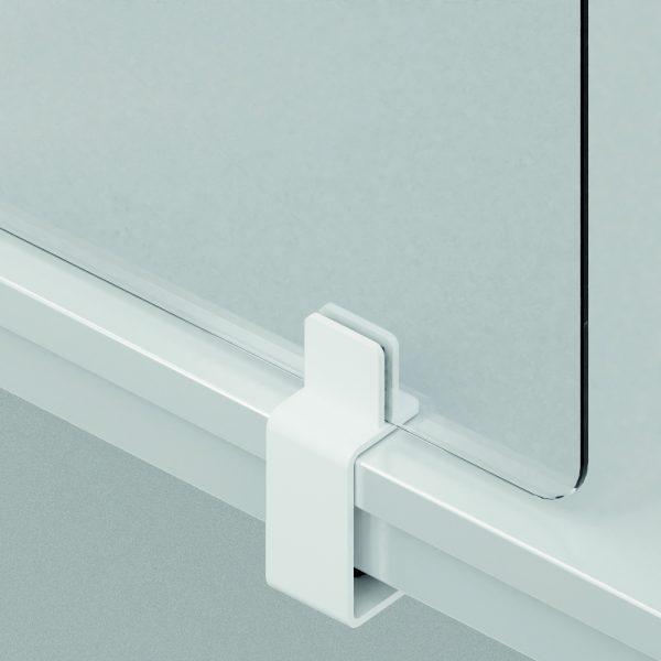 Klemme für OKA Protect Spuckschutz-Trennwand