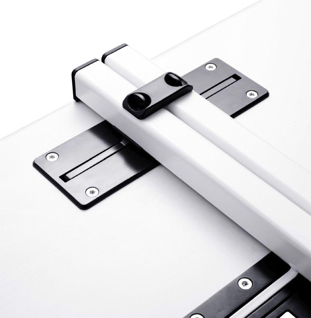 Tisch-Tisch-Verbinder als kraftschlüssige Verbindung