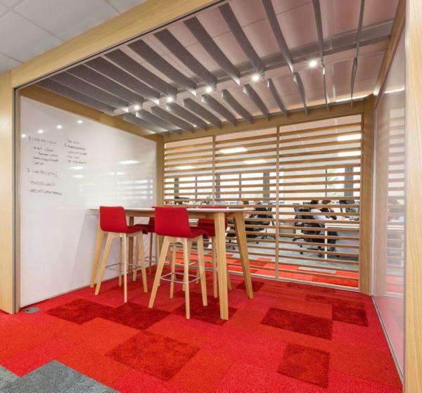 WINI Connection Rooms für Kurz-Meetings im Open Space