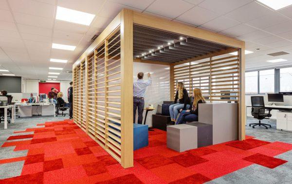 WINI Raumtrenner Rooms für Besprechungen im Büro